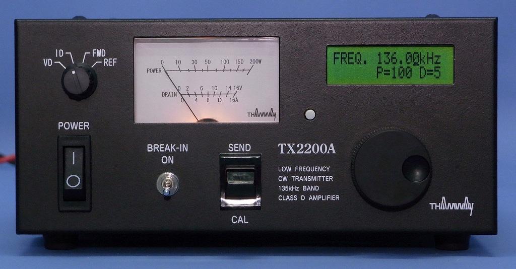 135kHz Transmitter/TX2200A/Ham Radio/THAMWAY CO , LTD